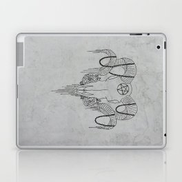 You and Me and the Devil makes 3 Laptop & iPad Skin
