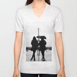 Eiffel Tower(s) Unisex V-Neck