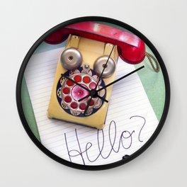 Hello? Wall Clock
