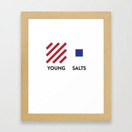 YS Modern Lines Framed Art Print