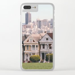 The Painted Ladies Clear iPhone Case