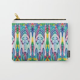 Kissed Tulips Logo Face Carry-All Pouch