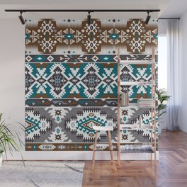 Modern Native American Pattern 5 Wall Mural