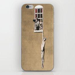 Banksy - Council Building, Bristol iPhone Skin
