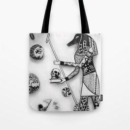 Anubis and Destiny's Child Tote Bag