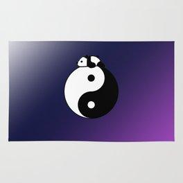 Yin & Yang panda Rug