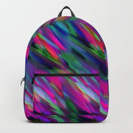 Colorful digital art splashing G400 Backpack