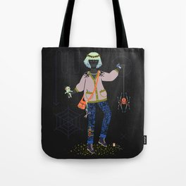 Witch Series: Voodoo Doll Tote Bag
