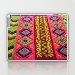 Colorful Guatemalan Alfombra Laptop & iPad Skin