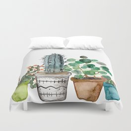 Potted Duvet Cover