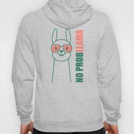 Llama, Alpaca design. No ProbLlama trendy gift. Hoody