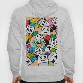 Marshmellows Colorful Hoody
