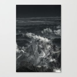 Beyond 100 days Canvas Print