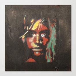 Street Girl  Canvas Print