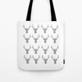 Deer Pattern Print Tote Bag