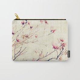 Spring Botanical - Tulip Tree, Magnolia × soulangeana II Carry-All Pouch
