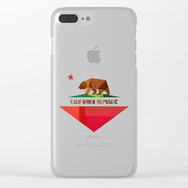 California Clear iPhone Case