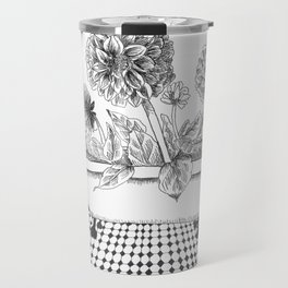 Dahlia Bath Travel Mug