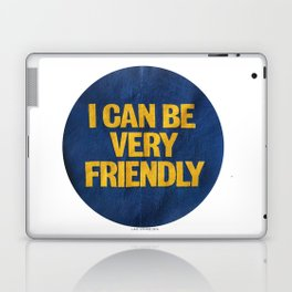I can be Very Friendly Vintage print  Laptop & iPad Skin