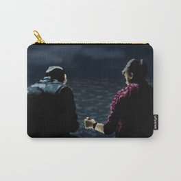 John and Rodney on the Pier Carry-All Pouch