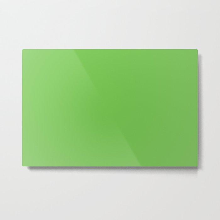 GREEN FLASH PANTONE 15-0146 Metal Print