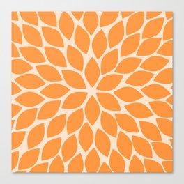Sherbet Chrysanthemum Canvas Print