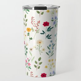 Spring Botanicals Travel Mug