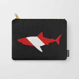 Diving Flag: Shark Carry-All Pouch