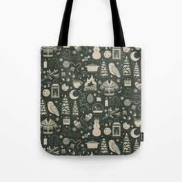 Winter Nights: Forest Tote Bag