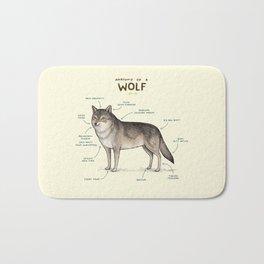 Anatomy of a Wolf Bath Mat