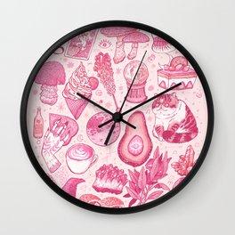 Millennial Witch Wall Clock