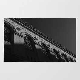 Boston Public Library Rug