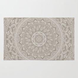 Mandala - Taupe Rug