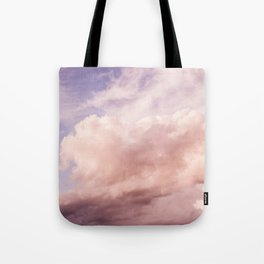 Perfect Pink Summer Sky Nature Photography Tote Bag