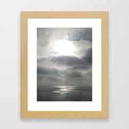 San Diego Sunset II Framed Art Print