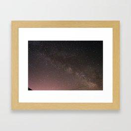 Milky Way 2 Framed Art Print