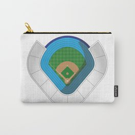 Baseball Stadium Carry-All Pouch