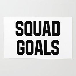 Squad Goals Rug