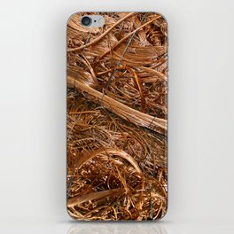 Copper Abstract iPhone Skin