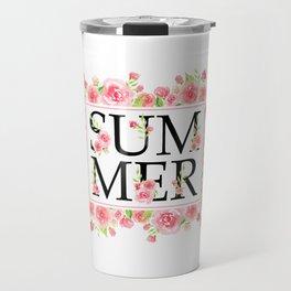 Summer roses Travel Mug