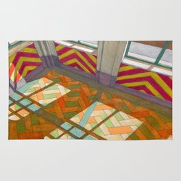 Abandoned room II Rug