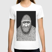 bigfoot T-shirts featuring Bigfoot by The Art of Filippo Borghi
