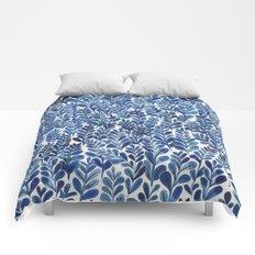 Indigo blues Comforters