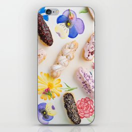 Eclairs with toppings iPhone Skin