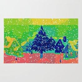 Christmas Greetings Rug