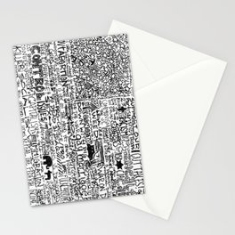 Divided We Stand Stationery Cards