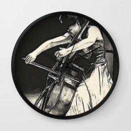 violoncello Wall Clock