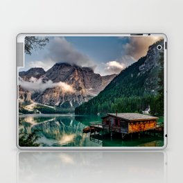 Italy mountains lake Laptop & iPad Skin