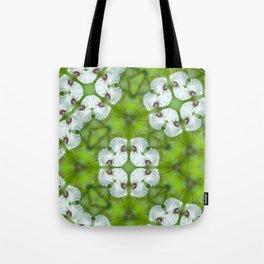 Silky Camellia Tote Bag