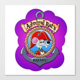 Admiral Rat's Galley Canvas Print